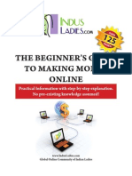 Beginners Guide to Making Money Online