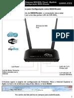 DIR-905LConfiguracao WDS Router