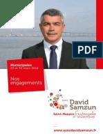 Nos engagements pour Saint-Nazaire