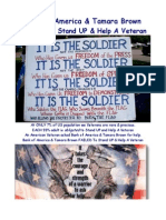 Bank of America & Tamara Brown FAILED To Stand UP & Help A Veteran