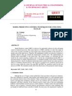 Model Predictive Control Techniques for Cstr Using Matlab