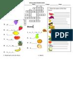 Fruit - Test