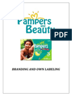 Pampers Marketing Sample
