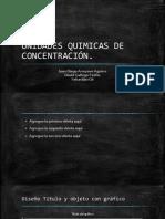 UNIDADES QUIMICAS DE CONCENTRACIÓN
