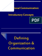 The Meaning of Organizational Communication