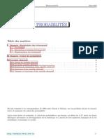 TSTI Cours 2 Probabilites