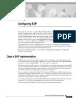 Configuring Bgp