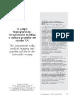 ORTEGA, Francisco. O Corpo Transparente (2006)