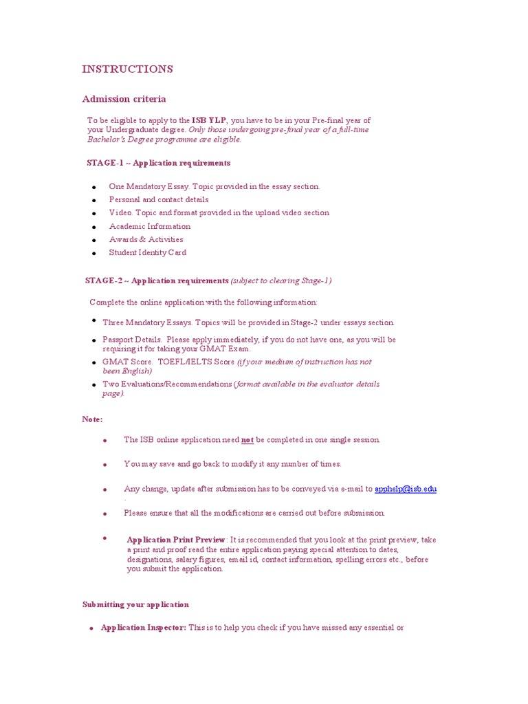 isb ylp essay 2015