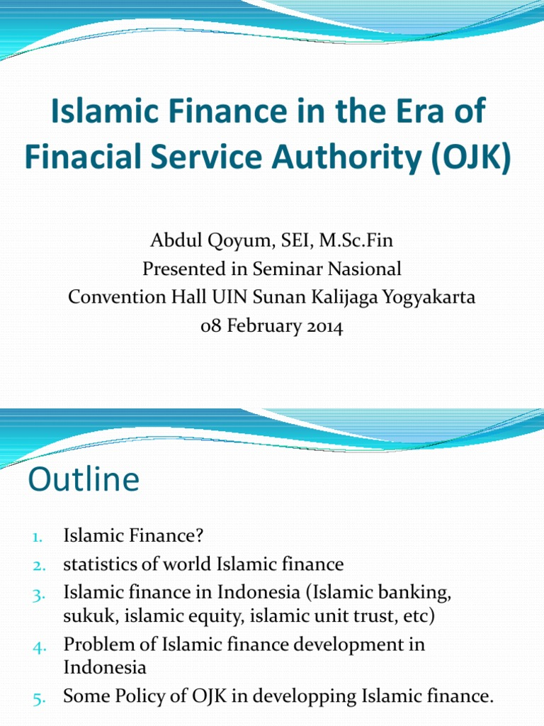 Materi seminar ojk abdul qoyum islamic banking and finance real materi seminar ojk abdul qoyum islamic banking and finance real estate investment trust malvernweather Images