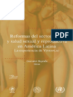Reform as Sector Salud