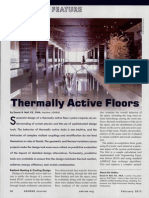 Thermally Active Floors EES