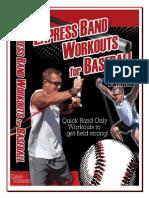 Band Workouts for Baseball