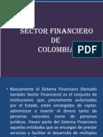 Diapositivas de Sector Financiero Colombiano