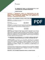 Codificación Resoluciones SBS y Junta Bancaria