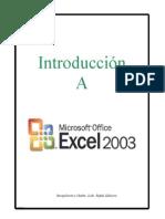 Introducción a Microsoft Excel
