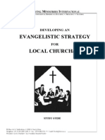Developing an Evangelistic Strategy for Local Churches - Study Guide