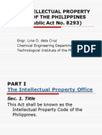 Ra 8293 the Intellectual Property Code of the Philippines (
