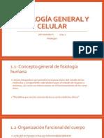 Fisiología general y celular1