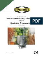 Manual Braumeister 200 Litros