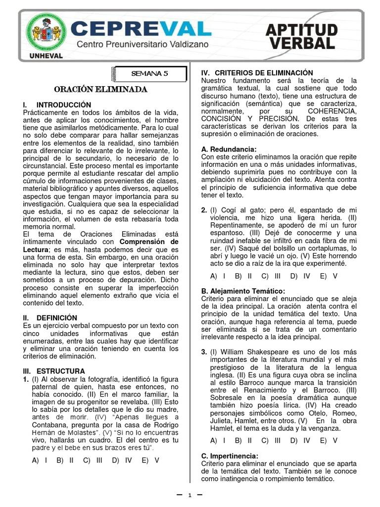 CEPREVAL MÓDULO 2 - Cursos Generales