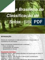 Classificação de solos 2013