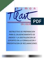 Instructivo Reclamación Humana Vivir en Liquidación