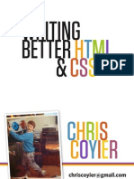 Better HTML & CSS Tutorial