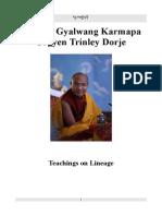 Karmapa Teachings on Lineage