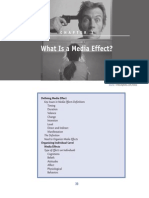 What is Media Effect