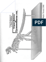 95184707 Skeleton of Tyrannosaurus Rex Origami Issei Yoshino