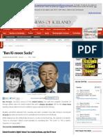 Ban Ki-Moon Sucks