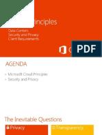 Cloud Principles - Office 365