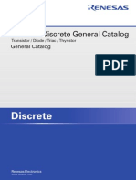 Renesas Discrete General Catalog
