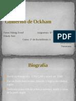 Guillermo de Ocham