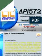 API RP-572 Inspection of Pressure vessels Presentation