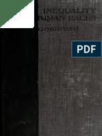 Inequality of Human Races - Gobineau