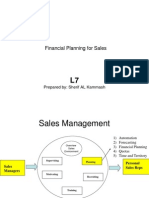 Financial Planning for Sales