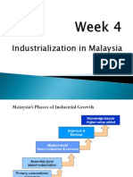 Week 4 Industrialisation