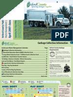 Waste Management Calendar Woodstock