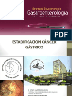 2-Estadificacion Cancer Gastrico