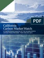 CA Carbon Market Watch-Year One WebVersion