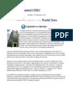 World Bank Banned CHEC