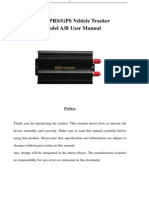 Gps103ab User Manual