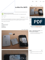 Sony Ericsson Xperia Mini Pro SK17i Teardown - Ifixit