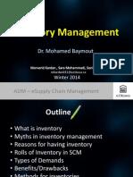 EBC6230 Inventory Management