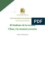 Budismo de La Escuela Chan y La Creencia Correcta