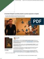 El ilustrador Benjamín Lacombe presenta su primera exposición en España - RTVE