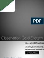 Observation Card Report