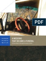 A Wedding That Became a Funeral